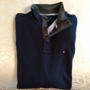 Men's Tommy Hilfiger XXL navy blue sweater